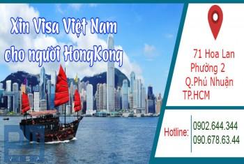 Xin visa Việt Nam cho người quốc tịch Hong Kong