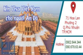 Xin visa Việt Nam cho người quốc tịch Ấn Độ