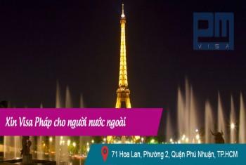 Xin visa Pháp cho người nước ngoài