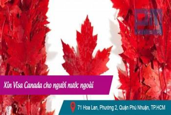 Xin visa Canada cho người nước ngoài