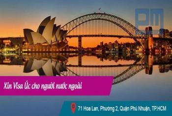 Xin visa Úc cho người nước ngoài